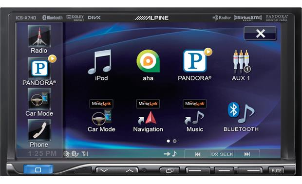 Alpine ICS-X7HD Front