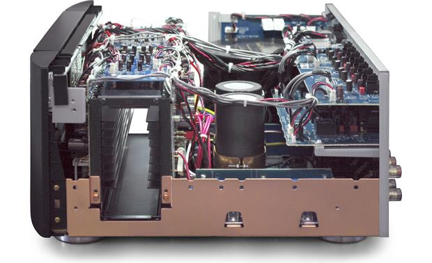 Marantz MM8077 Chassis is copper-lined for minimal RF and electrical interference