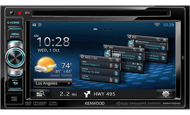 Kenwood DNN770HD Front
