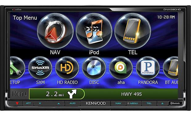 Kenwood Excelon DNX890HD Front