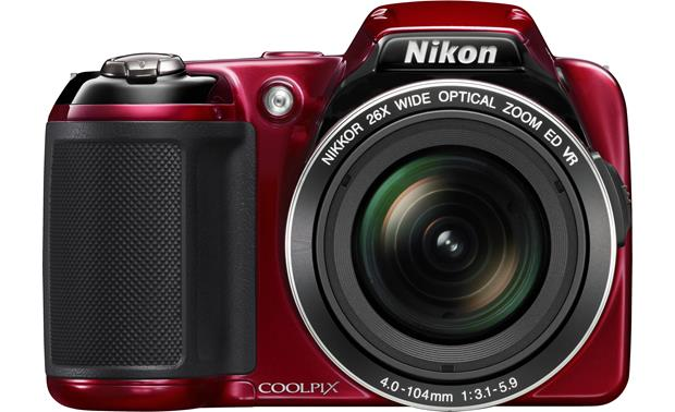 Nikon Coolpix L810 Front - Red