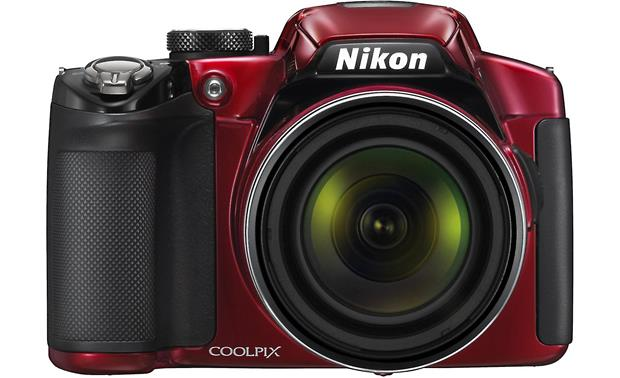 Nikon Coolpix P510 Front - Red
