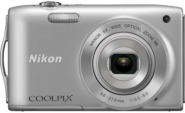 Nikon Coolpix S3300 Front - Silver