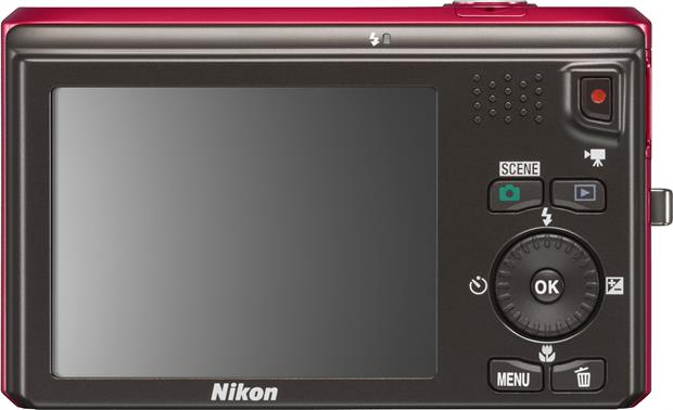 Nikon Coolpix S6300 Back - Red