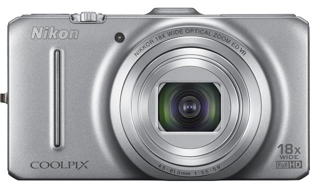 Nikon Coolpix S9300 Front - Silver