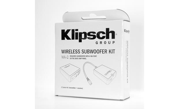 Klipsch WA-2 Product box (Front)