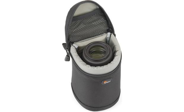 Lowepro Lens Case 9cm x 13cm interior compartment, with lens (not included)