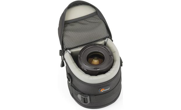 Lowepro Lens Case 11cm x 11cm interior compartment, with lens (not included)