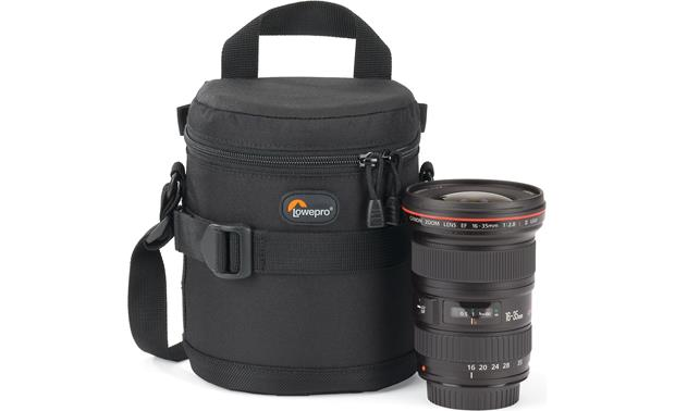 Lowepro Lens Case 11cm x 14cm shown with lens (not included)