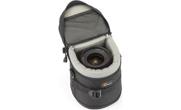 Lowepro Lens Case 11cm x 14cm interior compartment, with lens (not included)
