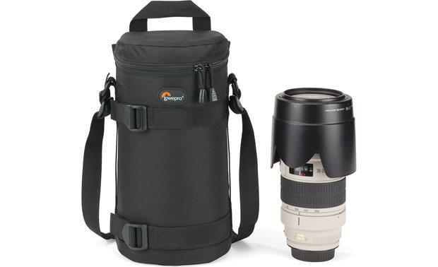 Lowepro Lens Case 11cm x 26cm shown with lens (not included)