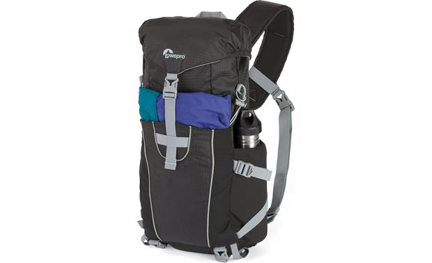 Lowepro Photo Sport Sling 100 AW (Black) Front, 3/4 view with accessories (not included)