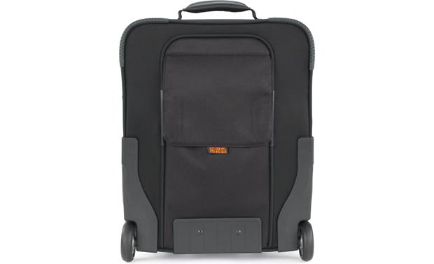 Lowepro Pro Roller Lite 150 AW handle concealed behind protective magnetic flap