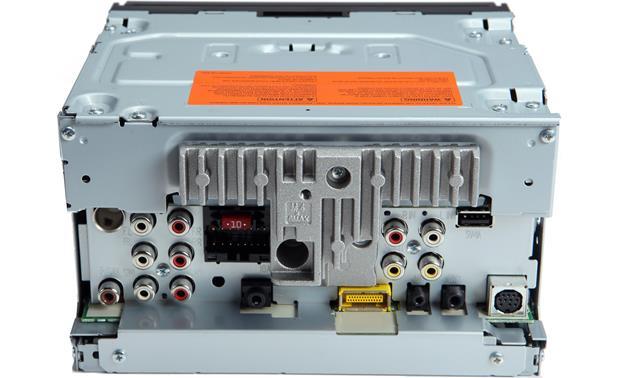 pioneer avh-x5500bhs back
