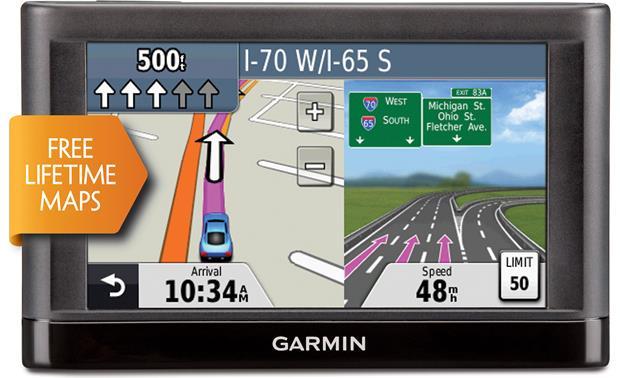 garmin n vi 42lm portable navigator with 4 3 screen and free rh crutchfield com garmin nuvi 50lm instruction manual Garmin Nuvi 30 40 50 Manual