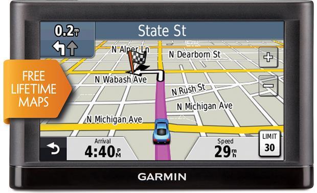 garmin n vi 52lm portable navigator with 5 screen and free rh crutchfield com garmin nuvi 52lm review garmin nuvi 52lm manual dansk