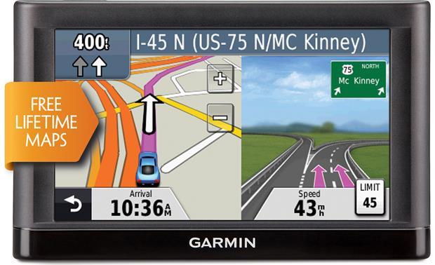 Garmin N�vi� 54lm Portable Navigator With 5\ Screen And Free: Garmin Nuvi 50 Canada Maps At Infoasik.co