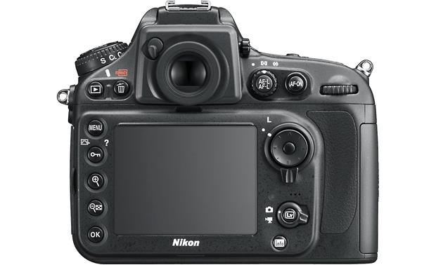 Nikon D800 (no lens included) Back