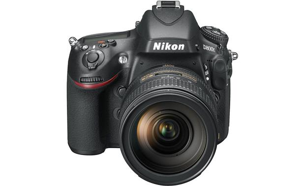 Nikon D800E (no lens included) high front angle, with lens (not included)