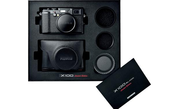 Fujifilm X100 Black Limited Edition With included accessories