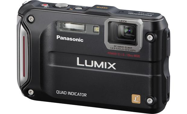 Panasonic Lumix DMC-TS4 Front - Black