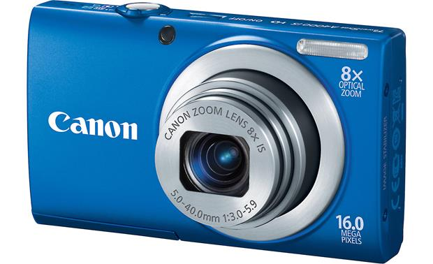 Canon PowerShot A4000 IS Front - Blue