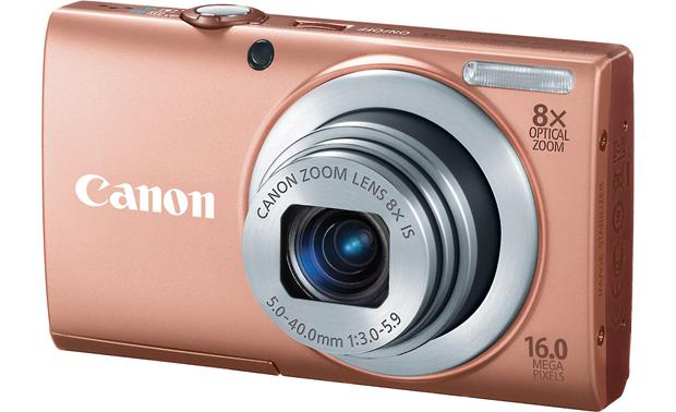 Canon PowerShot A4000 IS Front - Pink