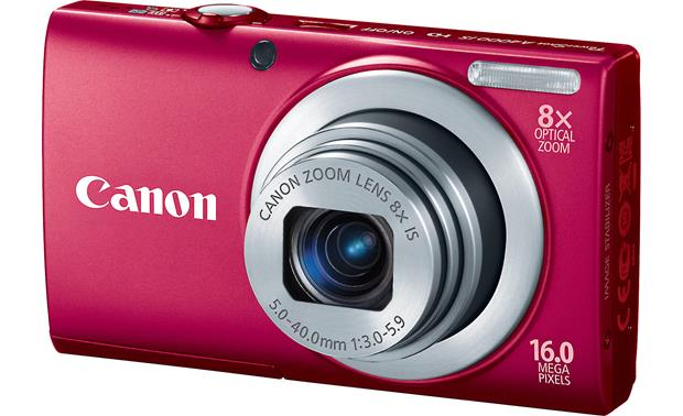 Canon PowerShot A4000 IS Front - Red