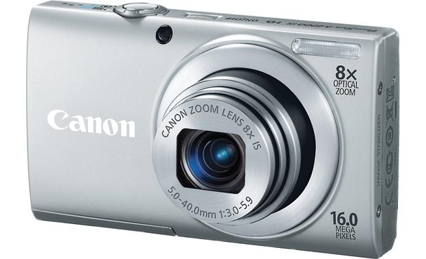 Canon PowerShot A4000 IS Front - Silver