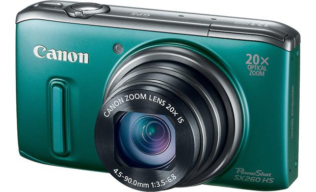 Canon PowerShot SX260 HS Front - Green