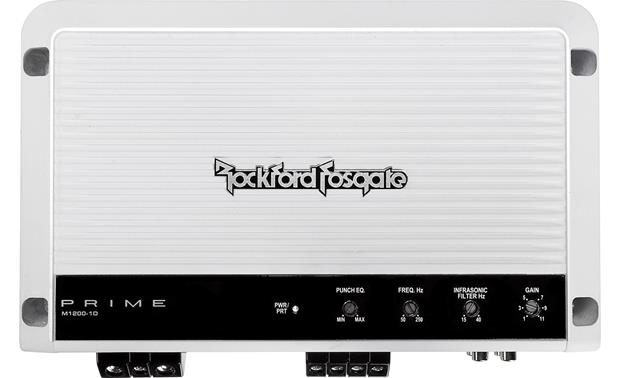 Rockford Fosgate M1200-1D Front