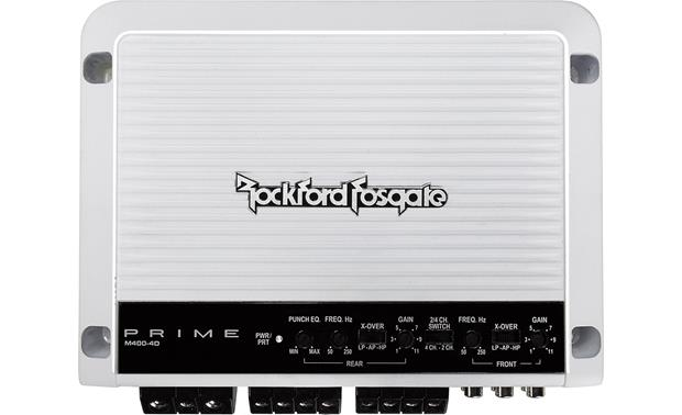 Rockford Fosgate M400-4D 4-channel marine amplifier