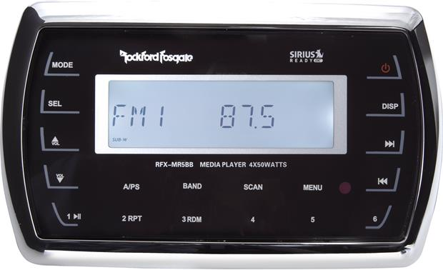 Rockford Fosgate RFX3000 You'll need this remote (not included)