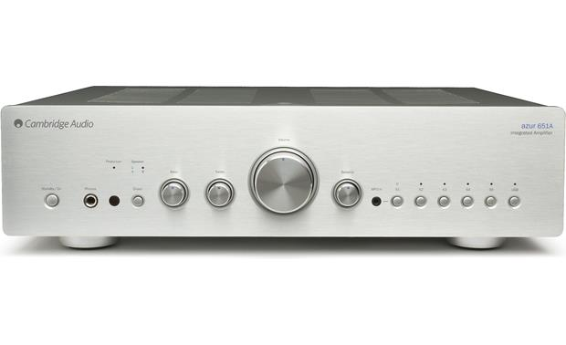 Cambridge Audio 651A Front (Silver)