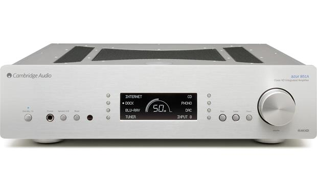 Cambridge Audio Azur 851A Front (Silver)
