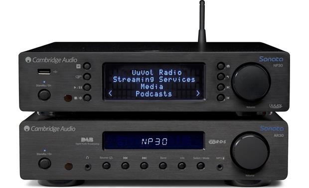 Cambridge Audio Sonata AR30 Shown with Cambridge Audio Sonata NP30 network music player (not included)