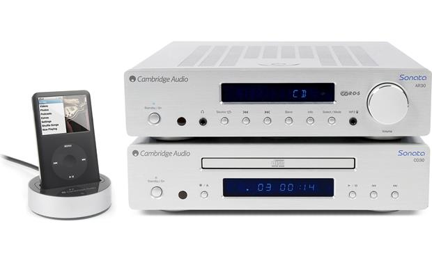 Cambridge Audio Sonata AR30 Shown with Cambridge Audio CD30CD player (not included)