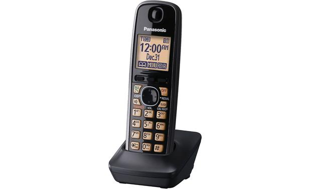 panasonic kx tga410b additional handset for use with panasonic kx rh crutchfield com Panasonic Kx 390 B Manual Panasonic Kx Phone Manual