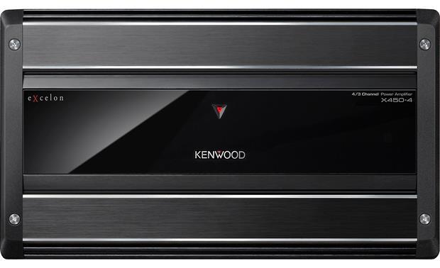 Kenwood Excelon X450-4 4-channel car amplifier — 60 watts RMS x 2