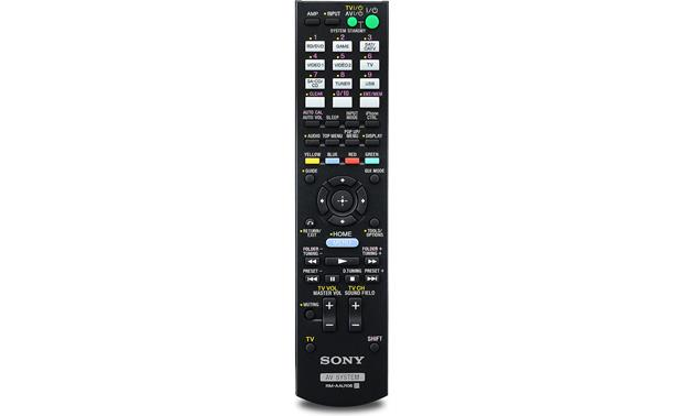 Sony STR-DH830 Remote