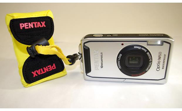 Pentax Floating Strap Shown attached to camera (not included)