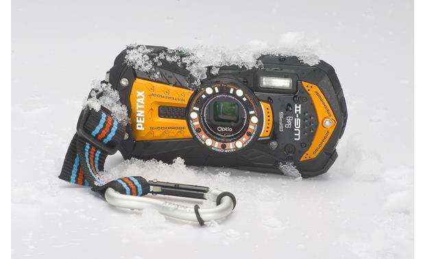 dd2d2ce14ad4 Pentax Optio WG-2 with GPS (Orange) Tough style 16-megapixel ...