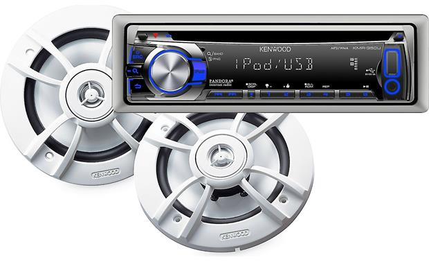 Kenwood PKG-MR353U Marine Package Front