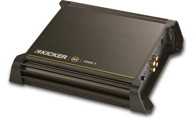 Kicker 11dx10001 mono subwoofer amplifier 1000 watts rms x 1 at kicker 11dx10001 front sciox Gallery