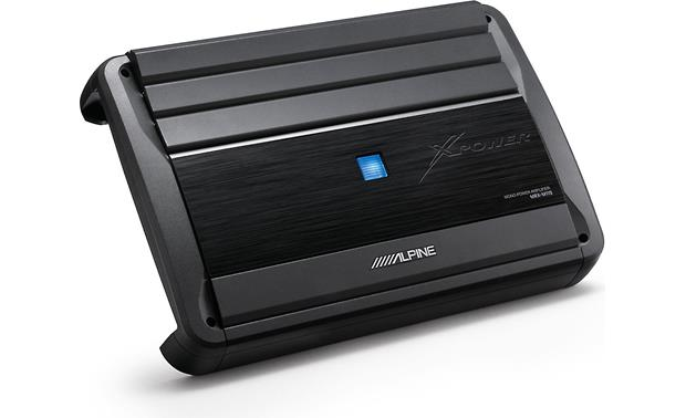 g500MRXM110 o_angle alpine mrx m110 mono subwoofer amplifier 1,100 watts rms x 1 at Alpine MRX-M110 Specifications at webbmarketing.co