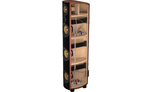 PSB Imagine T2 Tower Cutaway view