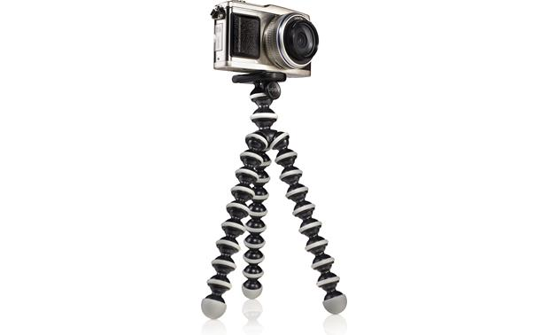 Joby Gorillapod SLR-Zoom shown at full vertical extension (optional quick release clip not included)