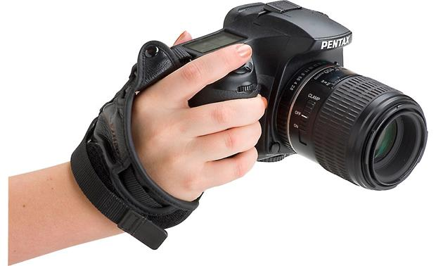 Pentax Leather Hand Strap Front