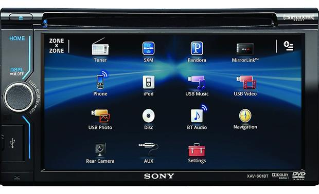 x158XAV601B o_scre sony xav 601bt dvd receiver at crutchfield com  at nearapp.co