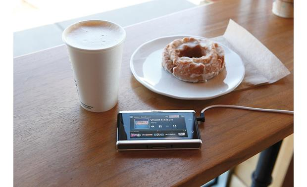 SiriusXM Lynx™ Lynx makes a great coffee shop companion